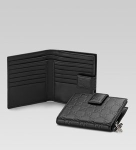 Gucci Flap French Wallet 233022 AA61N 1000 - 34986