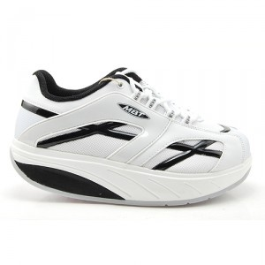 mbt shoes mwalk whiteblack m - 34986